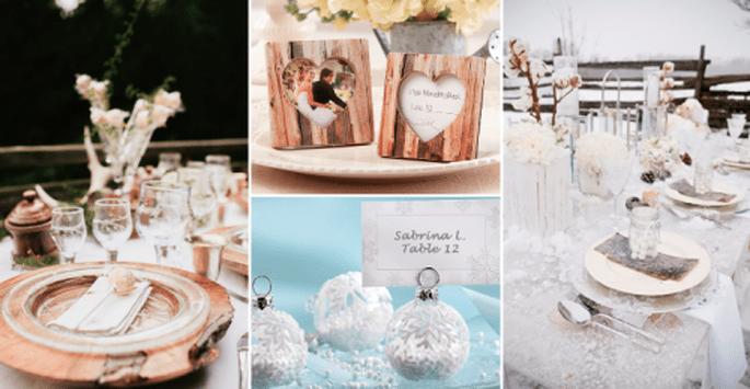 Ambiance traditionnelle ou décoration immaculée : un mariage à la montagne offre l'embarras du choix - Photos : Junebug Weddings, Love'n Gift, Style Me Pretty