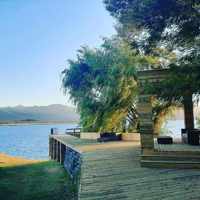 Casa Folatre Lodge Pehuen Colbun centro de eventos en San Clemente