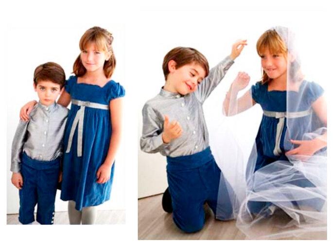 trajes cortejo niños