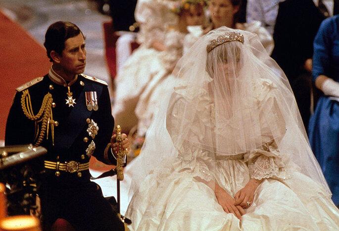 Princesa Diana e Princepe Charles - Via Pinterest
