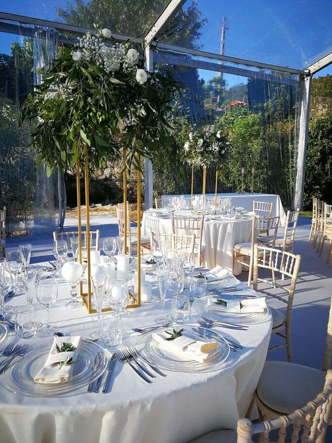 Decoração de mesa casamento
