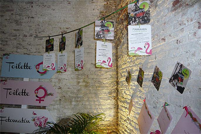 En CONNUBVIM diseñan la identidad total de la boda. Foto: Marta Jiménez