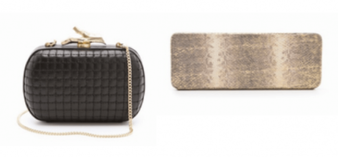 Un clutch es un accesorio básico para todas las invitadas de boda - Foto ShopBop