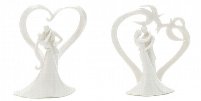 8 (links) / 9 (rechts) Dezente und schlichte Varianten aus dem weddix Dekoshop