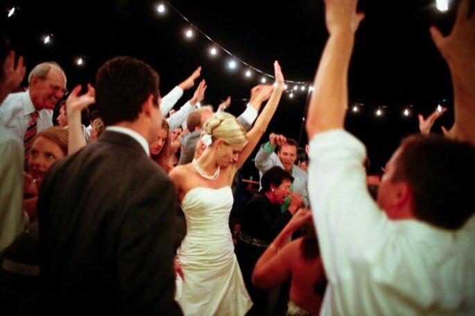 Música de todo tipo de géneros de moda en las bodas de 2013 - Foto Mastin Studio en Polkadot Bride