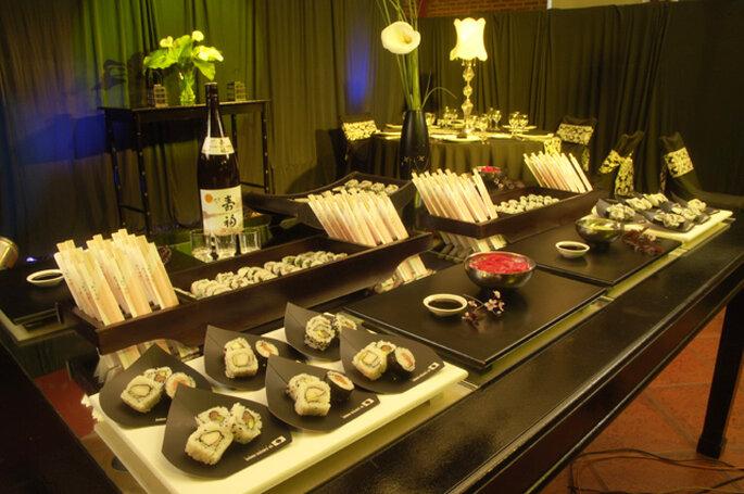 Mesa de sushi. Foto: Se Cuecen Habas