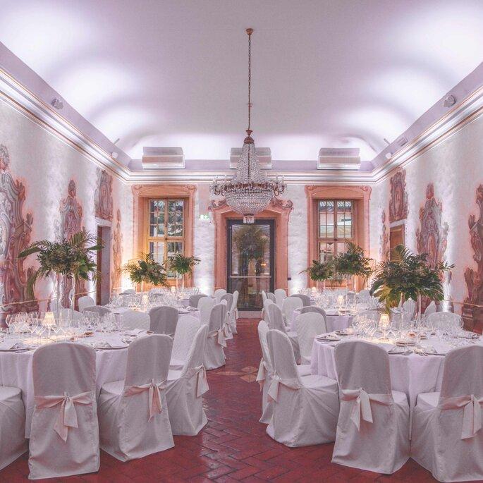 Banchetto nuziale elegante a Villa Quaranta Tommasi Wine Hotel & SPA