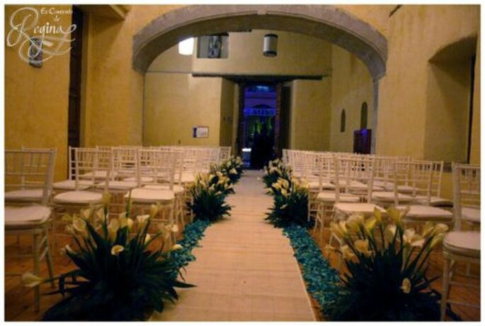 Recinto lleno de magia y belleza colonial para tu boda - Foto Ex Convento de Regina