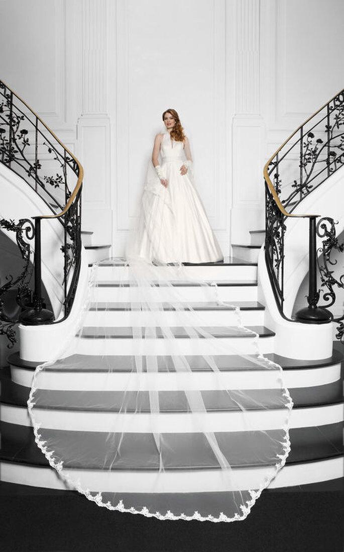 Robe de mariée princesse - mariage de film
