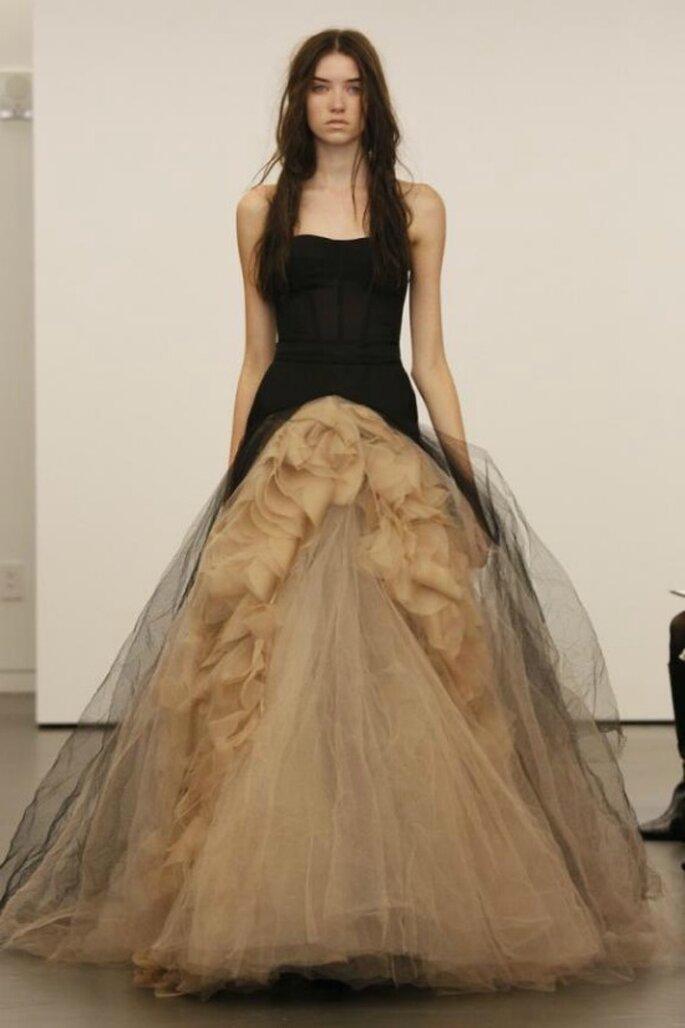 Un modello Vera Wang 2012