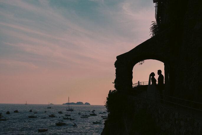 Luca Cuomo Photographer - sposi al tramonto