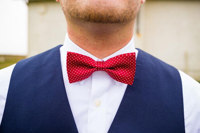Lunares y más lunares para tu boda. Foto: Joshua Rainey Photography via Shutterstock (3)