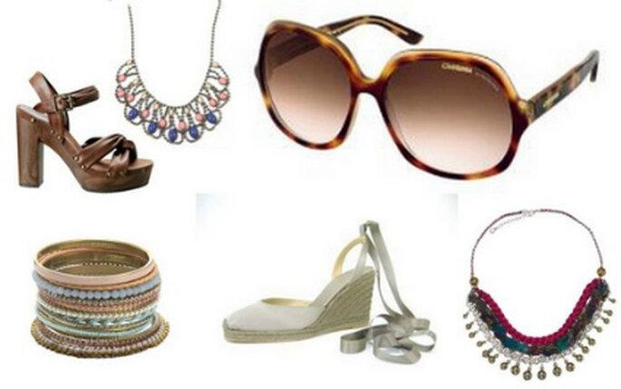 Accessoires für die Hippie-Braut