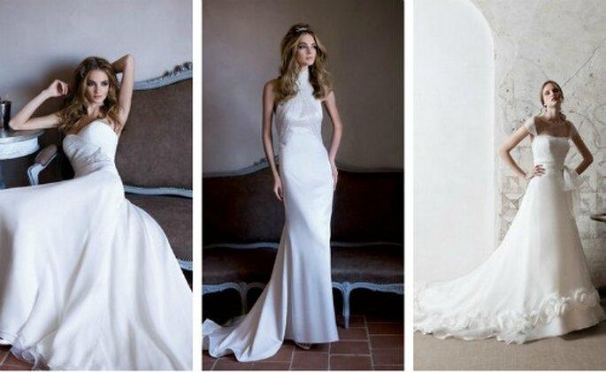 La qualità dei tessuti fa di questi abiti delle vere opere. Alessandra Rinaudo Collezione 2012