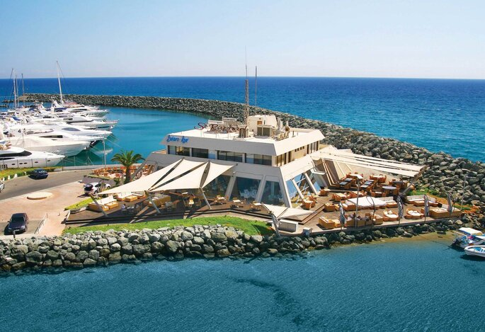 St Raphael Resort - Sailors Rest Lounge Bar Restaurant aerial