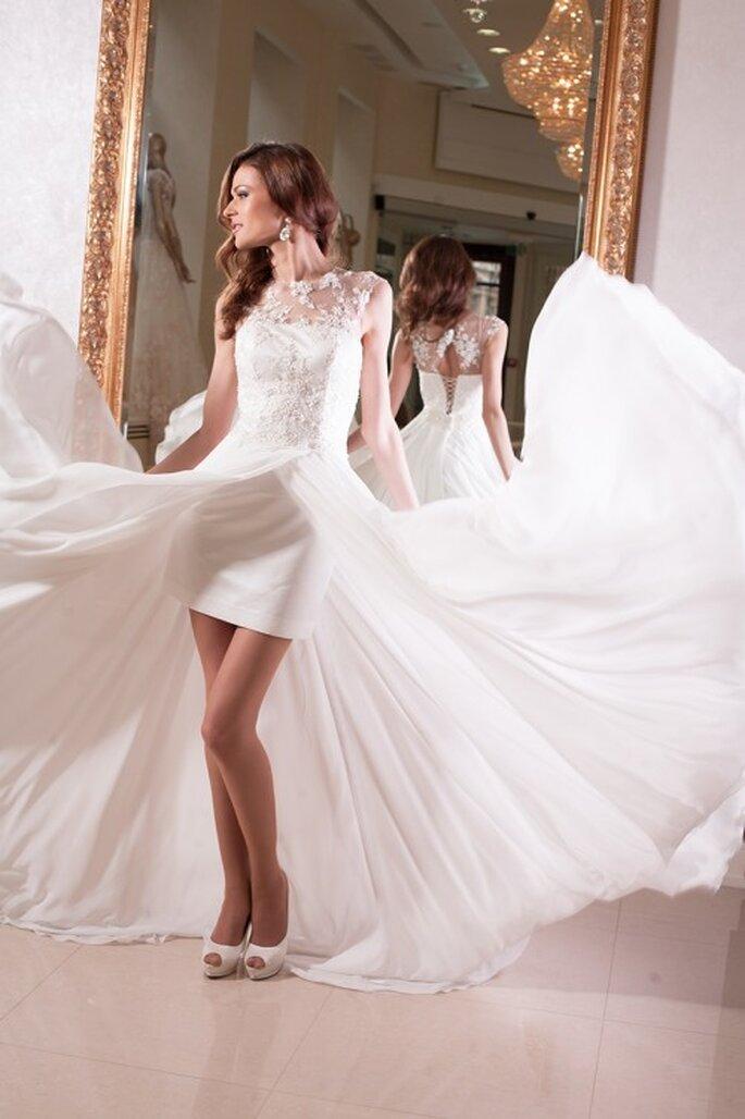 Robe de mariée Oksana Mukha 2014 - Modèle Olimpia