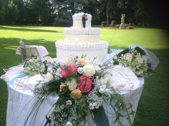 Ilaria Bosco - torta nuziale