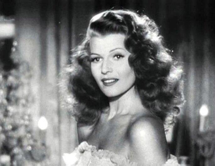 Rita Hayworth en Gilda, una inspiración para novias