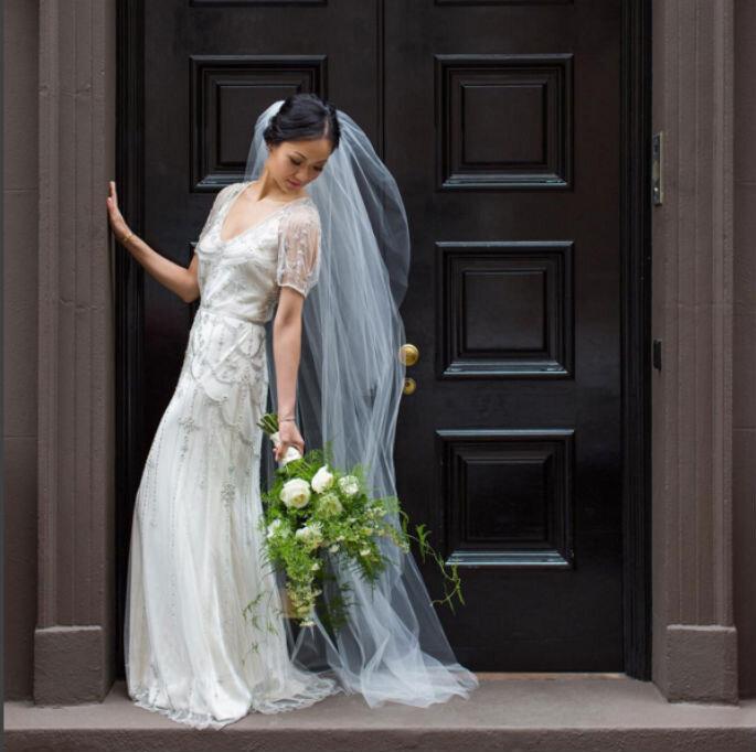 Vestido novia instagram