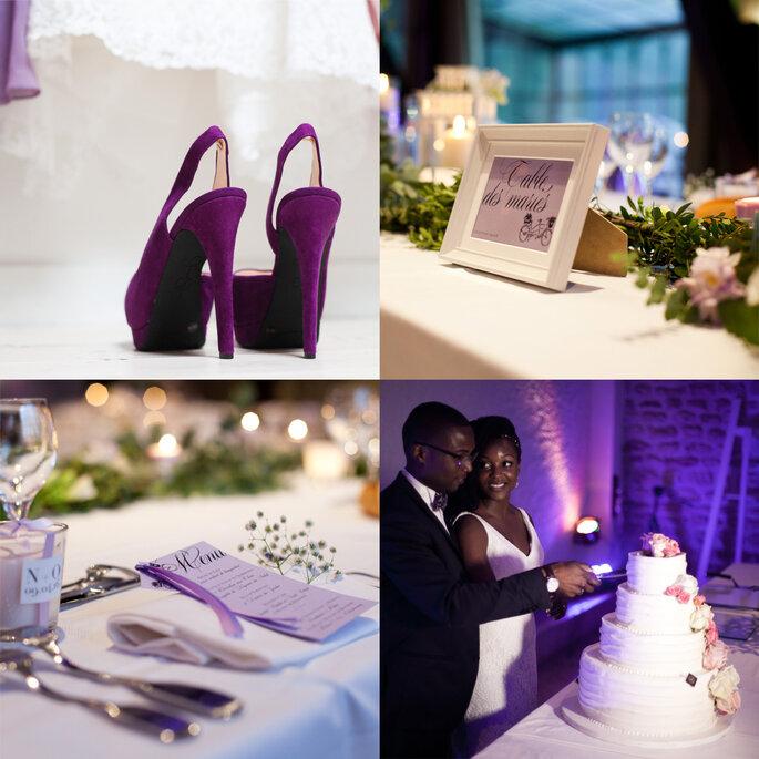 Pic 5: Lila Wedding Design, Label' Emotion Paris. © Sylvain Norget