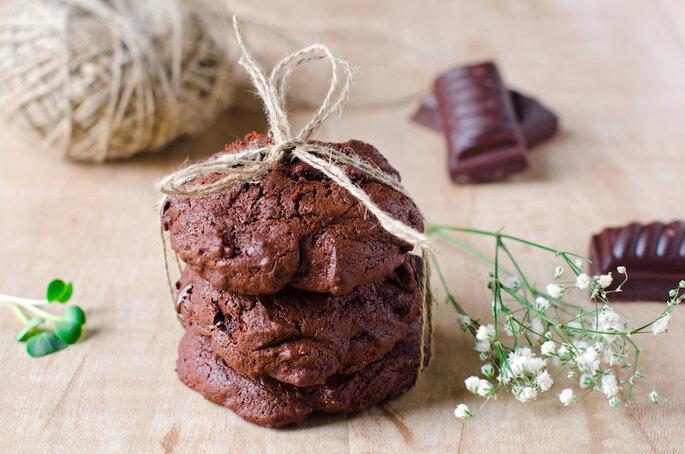 Les biscuits au chocolat sans sucre - Shutterstock