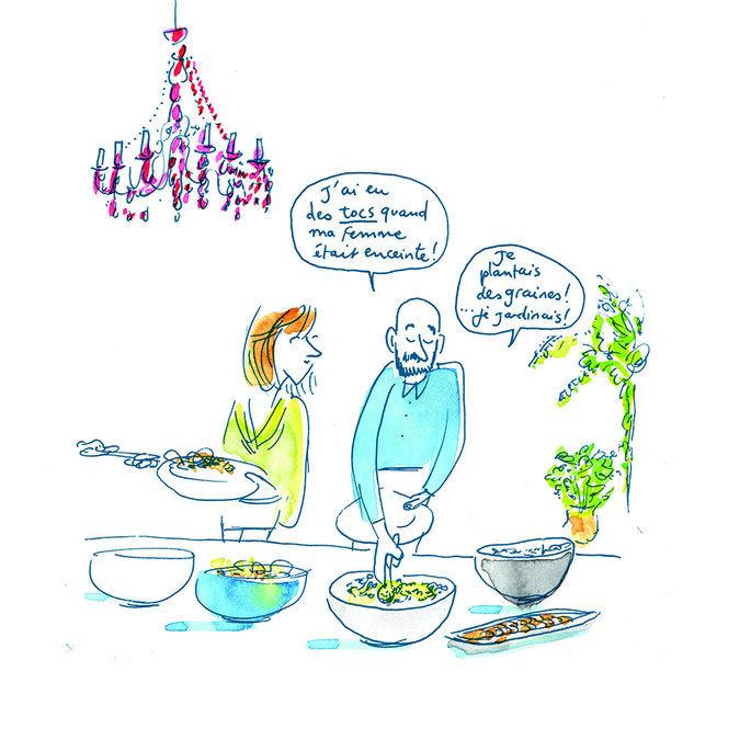 Croqueuse de mariage - faire part - Paris