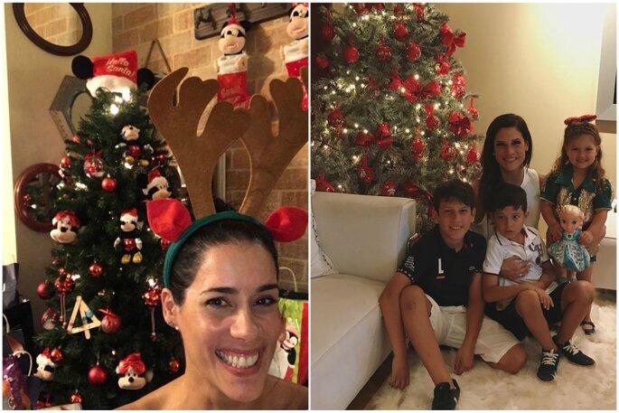 Instagram: la Navidad de las famosas