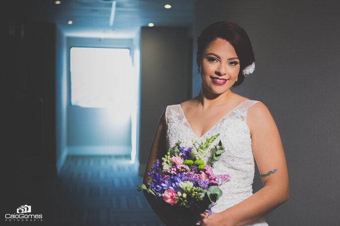 Segunda noiva pronta