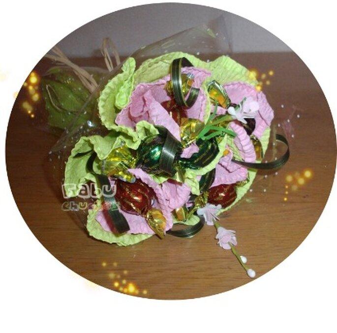 Ramo de novia de bombones - Fabu Chuches