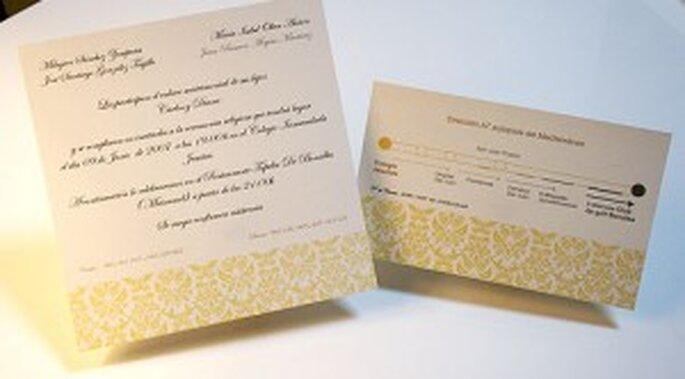Invitaciones de bodas Sya-Sya