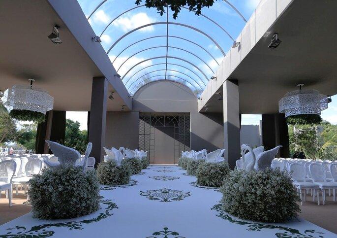 decoração cerimônia casamento Brasilia