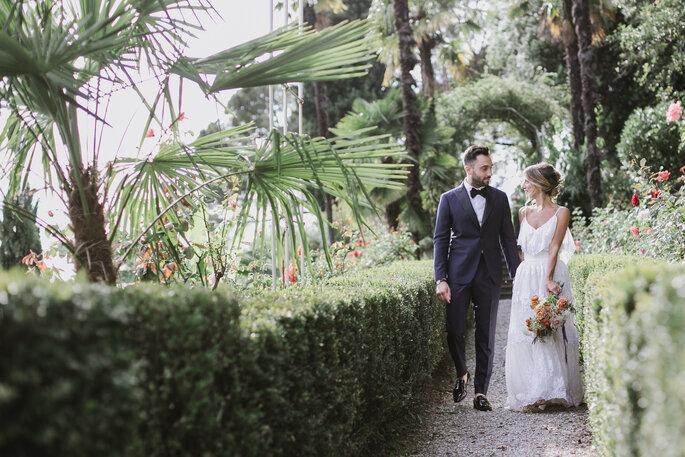 Tenuta Frizzoni - sposi nel parco