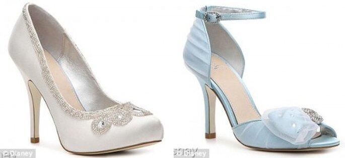 Zapatos de novia estilo Cenicienta - Foto Disney