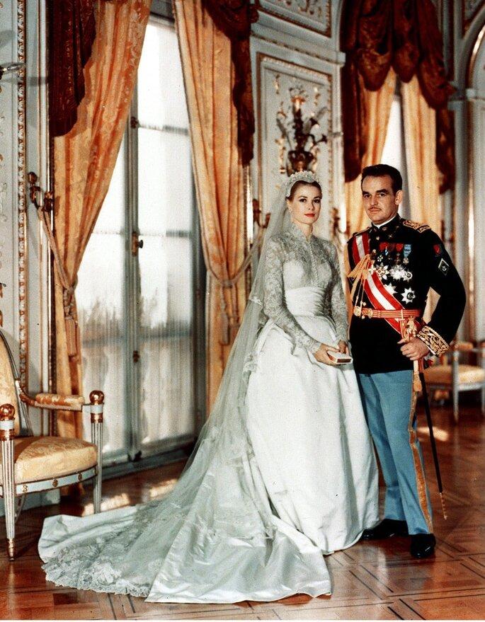 Raniero III de Mónaco y Grace Kelly. Foto: Gtres