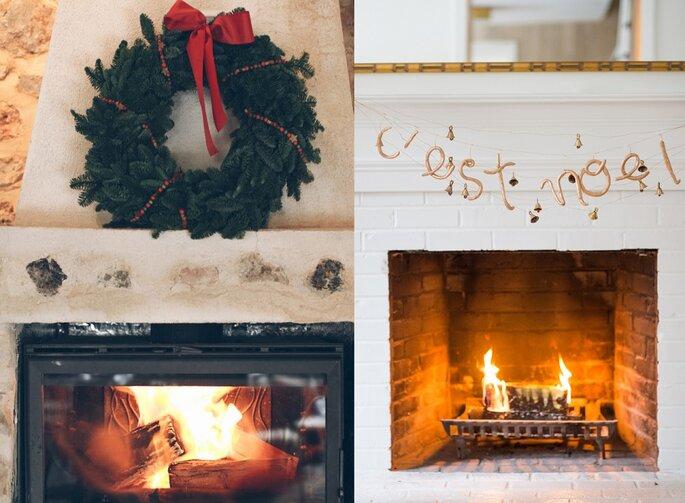 chimenea bodas Navidad
