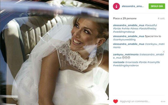 Foto via Instagram.com/alessandra_amabile_mua