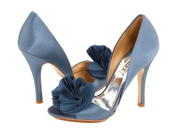 Sapatos de Noiva Azuis - Badgley Mischka