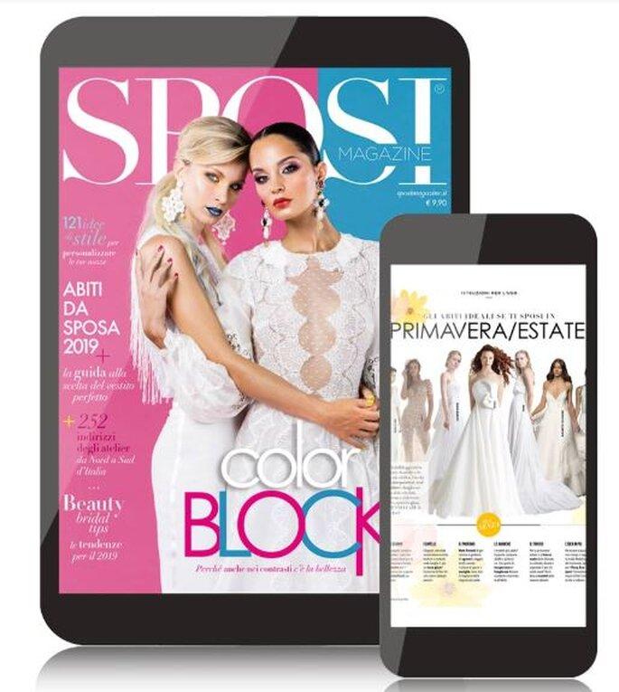Il nuovo numero di Sposi Magazine disponibile in edicola e in versione digitale