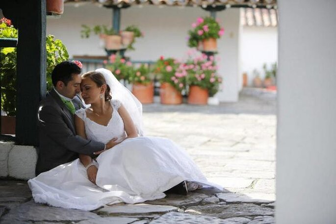 Romántica boda campestre en Hacienda Fagua - Cajicá. Foto: Artevisión