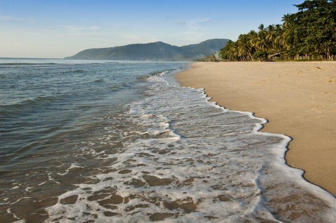 Khanom Beach is located in Hat Khanom - Mu KoThale Tai National Marine Park, Nakhon Si Thammarat