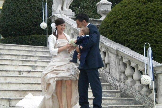 Greta, Fabio E Il Piccolo Jacopo: Un Real Wedding Di Riti