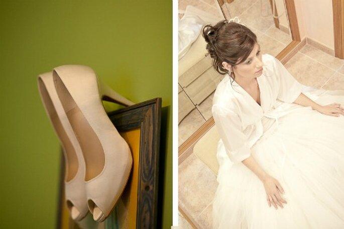 Chaussures de mariée : on les porte avant le grand jour ! - Photo : Chema Naranjo
