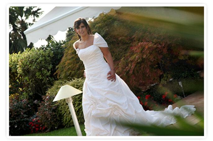 La nostra sposa sposata Sabrina nel giorno del suo matrimonio. Foto New Image Officina d'Immagine