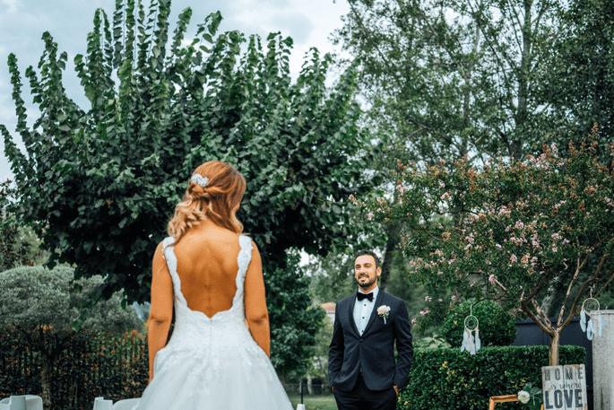 vestido de noiva decote costas