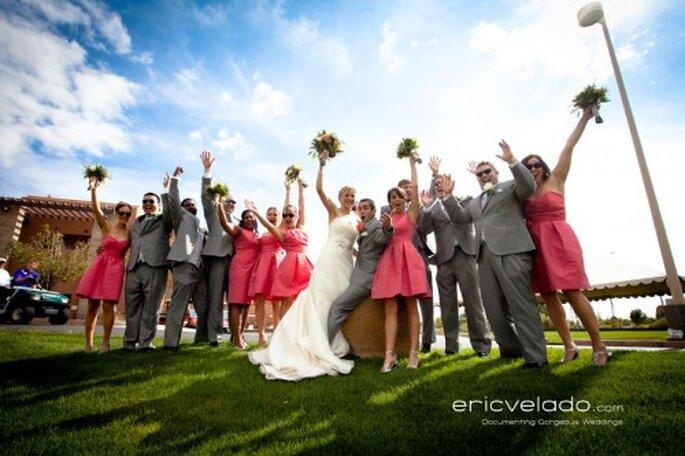 Gruppenfotos mit den Hochzeitsgästen – Foto: eric velado