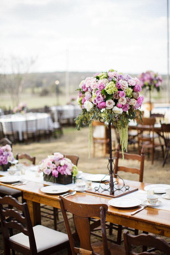Púrpura en tu boda -  Koby & Terilyn Brown