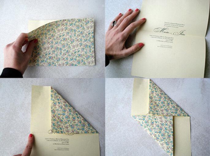 Convites de Casamento em Origami - corações, garças ou borboletas?