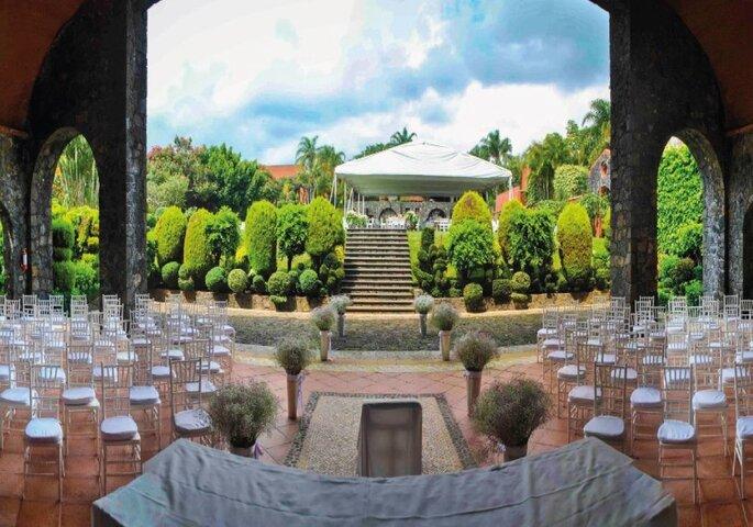 Gallaecia Garden & Suites salones para bodas Tepoztlán