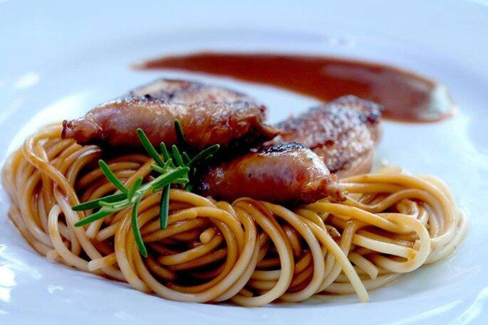 buffet eventos comida italiana