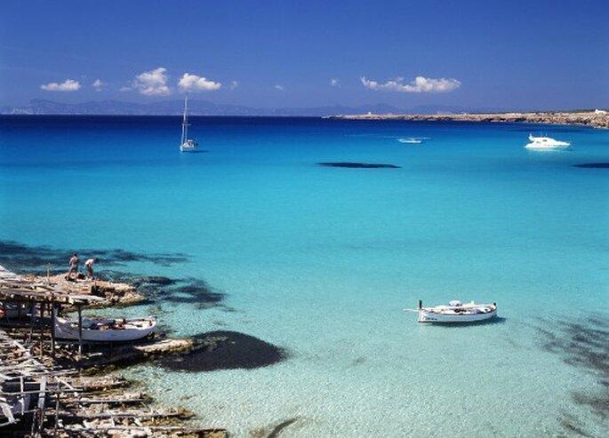 Cala Saona, en Formentera. Foto: Difusión